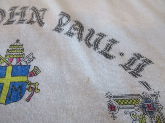 Vintage Pope John Paul II 2nd USA Visit 1980s Whi… - image 4