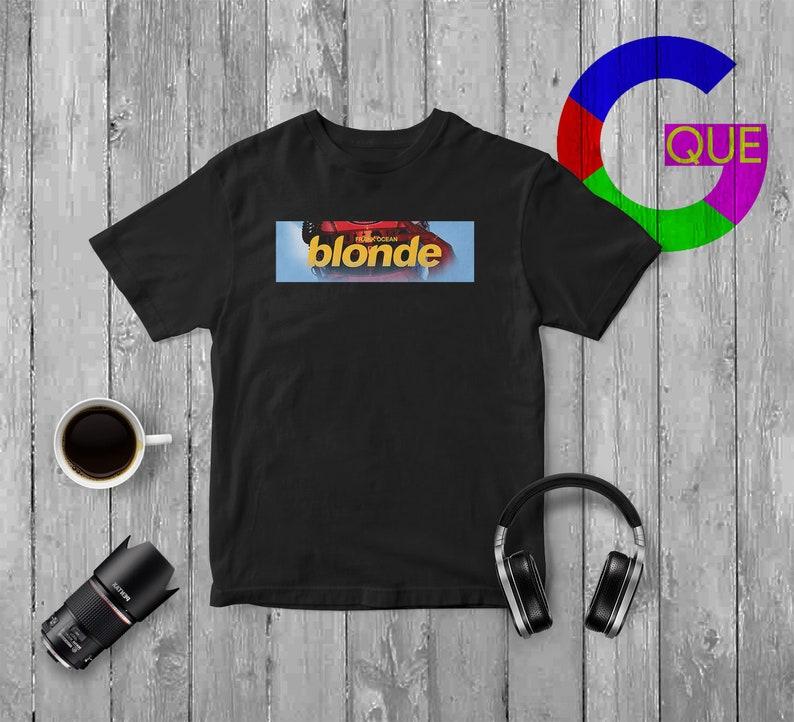 bfb4821b Frank Ocean Shirt Blond Box T Shirt Frank Ocean Blonde Shirt | Etsy