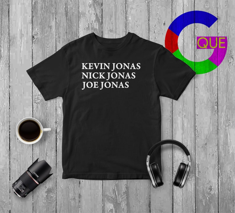 4304d4048 Kevin and Nick Jonas Shirt The Brothers Joe Jonas T Shirt | Etsy