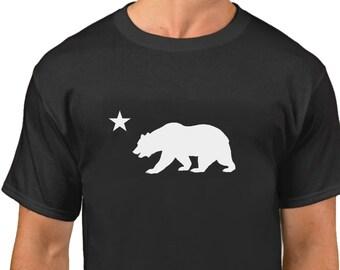 Tee Plain Graphic California Bear Clip Art Shirt Girls Tops Assorted
