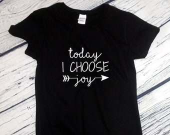 Womens -  Today I Choose Joy - Shirt, Christian T-Shirt, Religious Tee, Jesus Gift, Easter Outfits, Bible