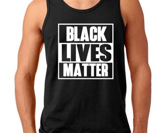 Tank Top Men's - Black Lives Matter Shirt - Justice - Freedom T-Shirt - History African American T Shirt - Civil Rights Tee