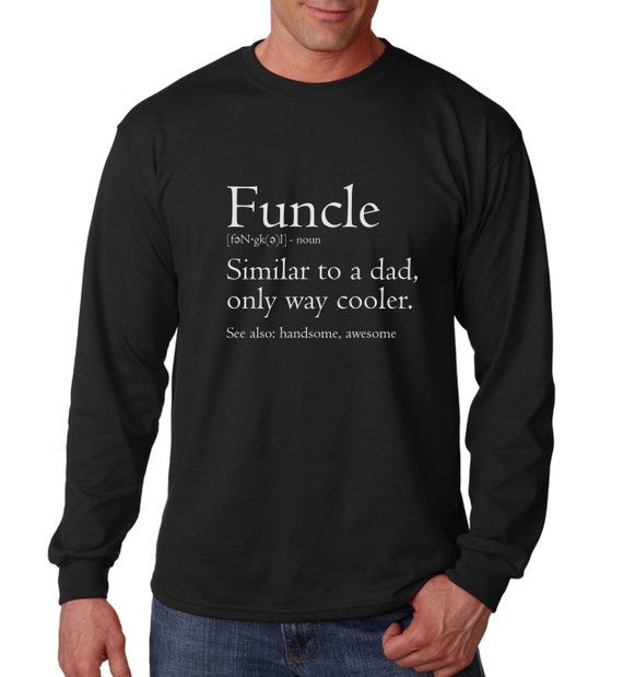 tee Funcle Definition for The Best Uncle Women Sweatshirt