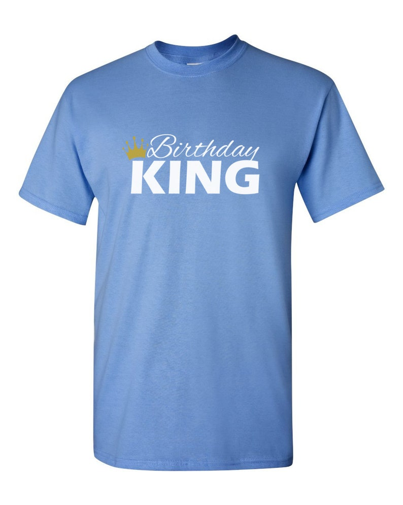 674a3d2cfcf11 Birthday King Shirt - Bday T-Shirt - Gift For Him - Funny Party Men's Tee -  Birthday Gift - Bday Present