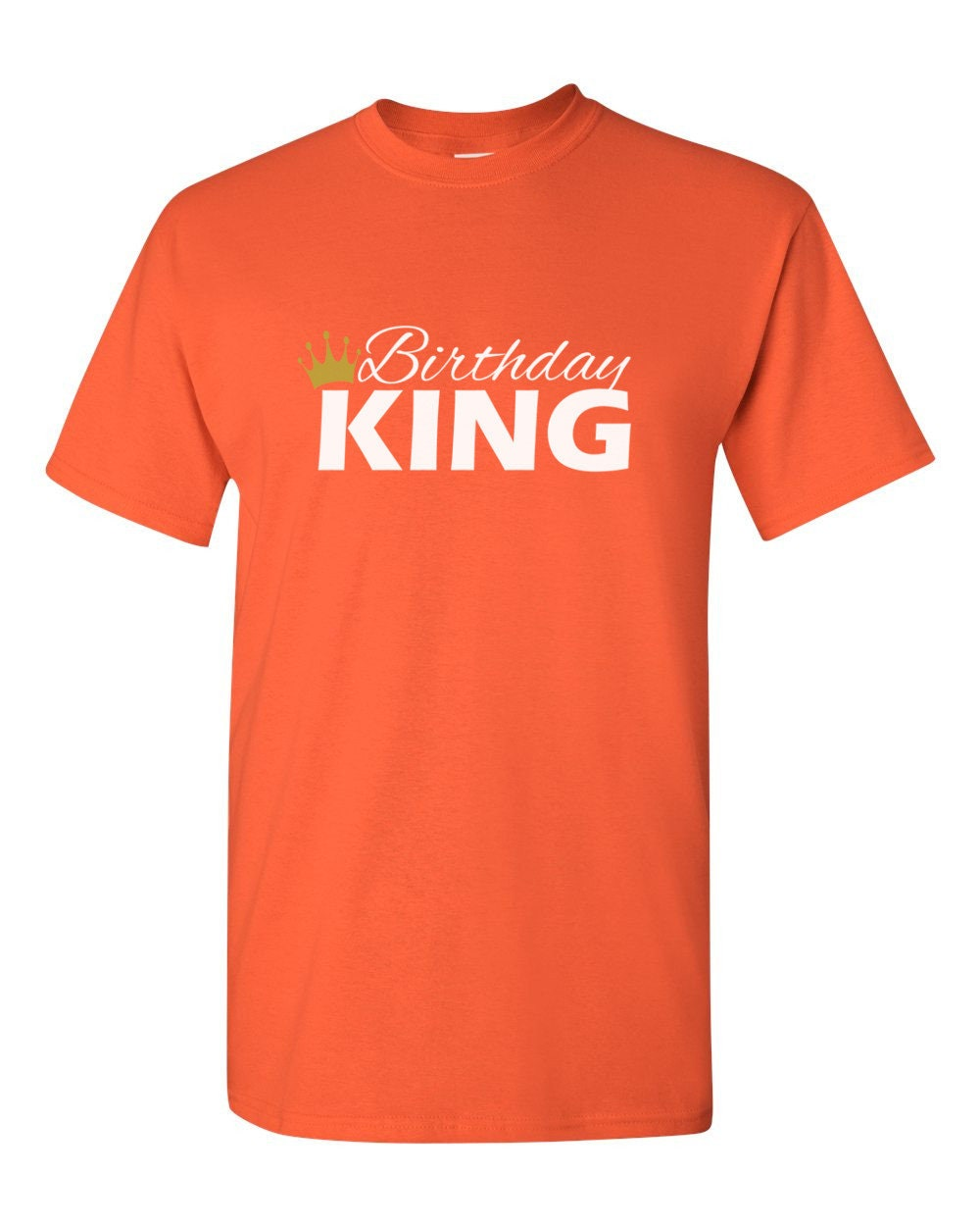 928b6ee15d8f0 Birthday King Shirt - Bday T-Shirt - Gift For Him - Funny Party ...
