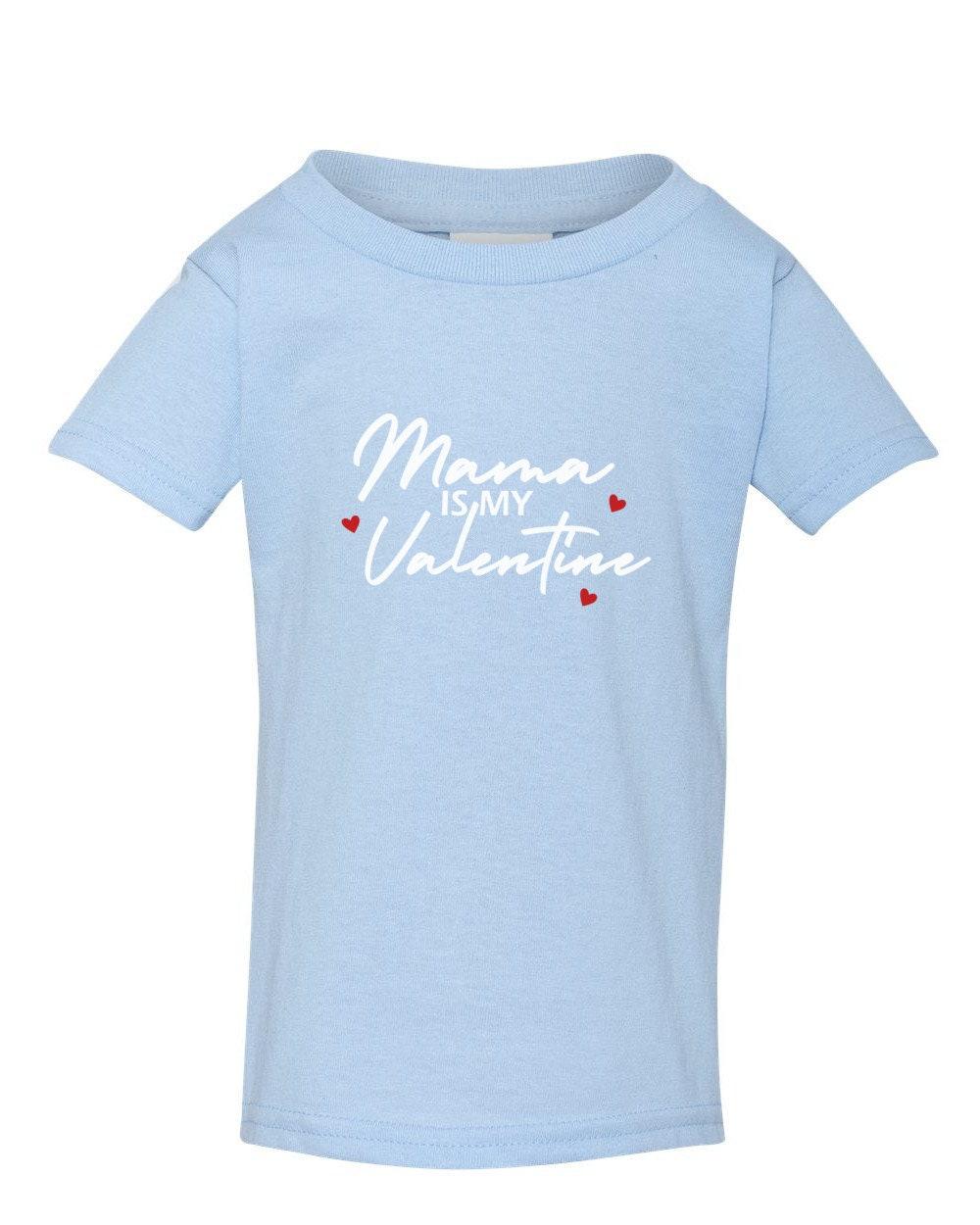 Mommy Is My Valentine Youth Shirt Boys Valentine/'s Day Shirt Valentine Love Tee