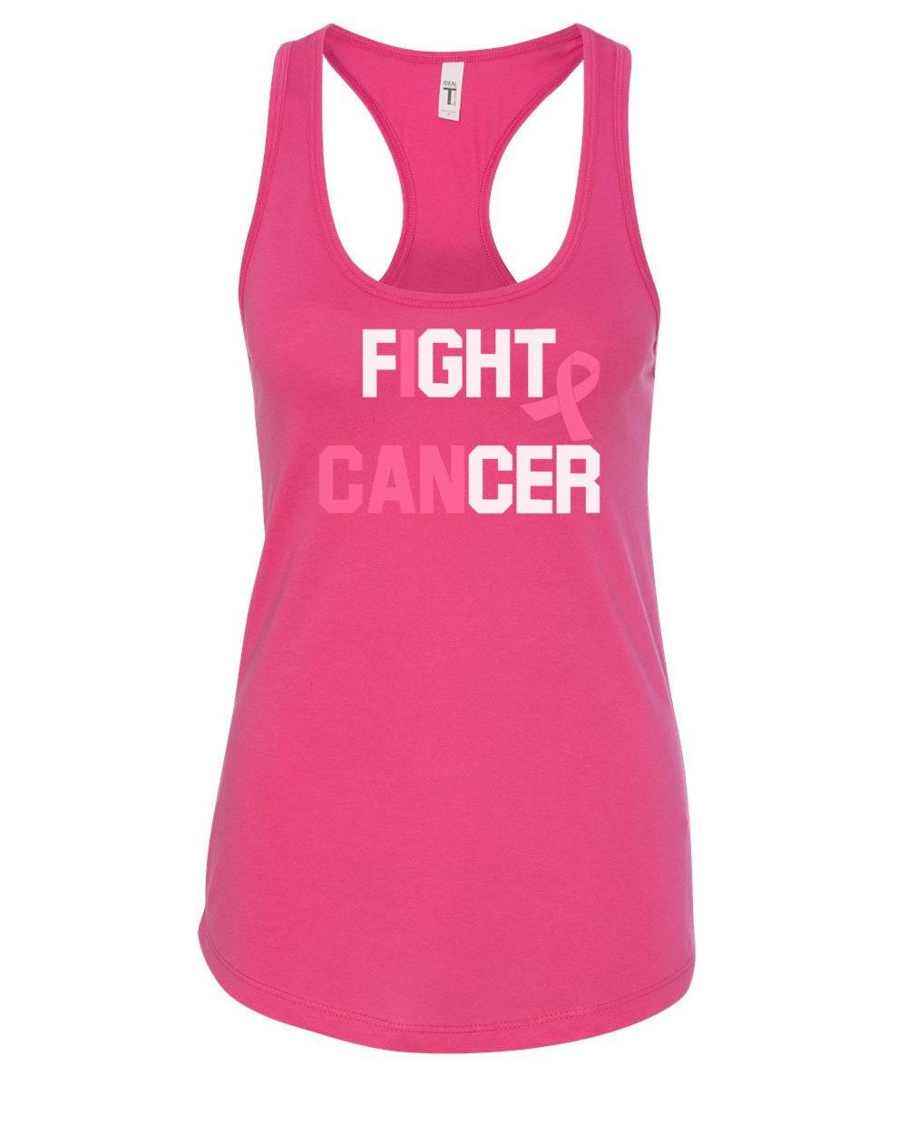 Survivor Pink Ribbon Women/'s Racerback Breast Cancer Awareness Shirt