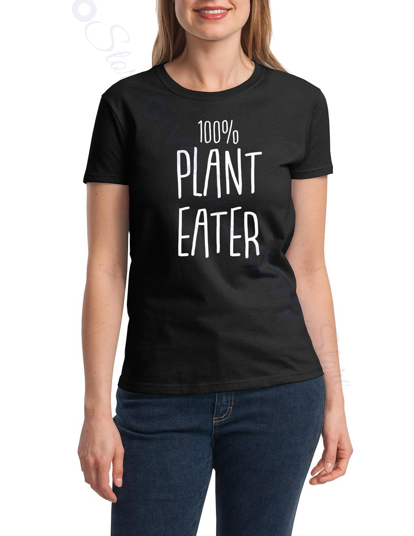 100/% Herbivore Plant Based Vegetarian Vegan Womens T-Shirt