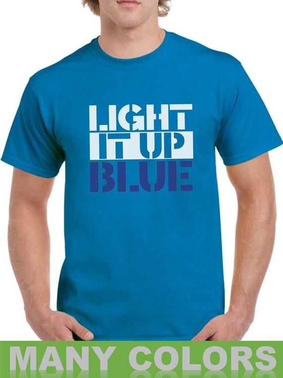 Autism Awareness Blue Circle Women/'s V-Neck T-shirt Acccept Understand Love Tee