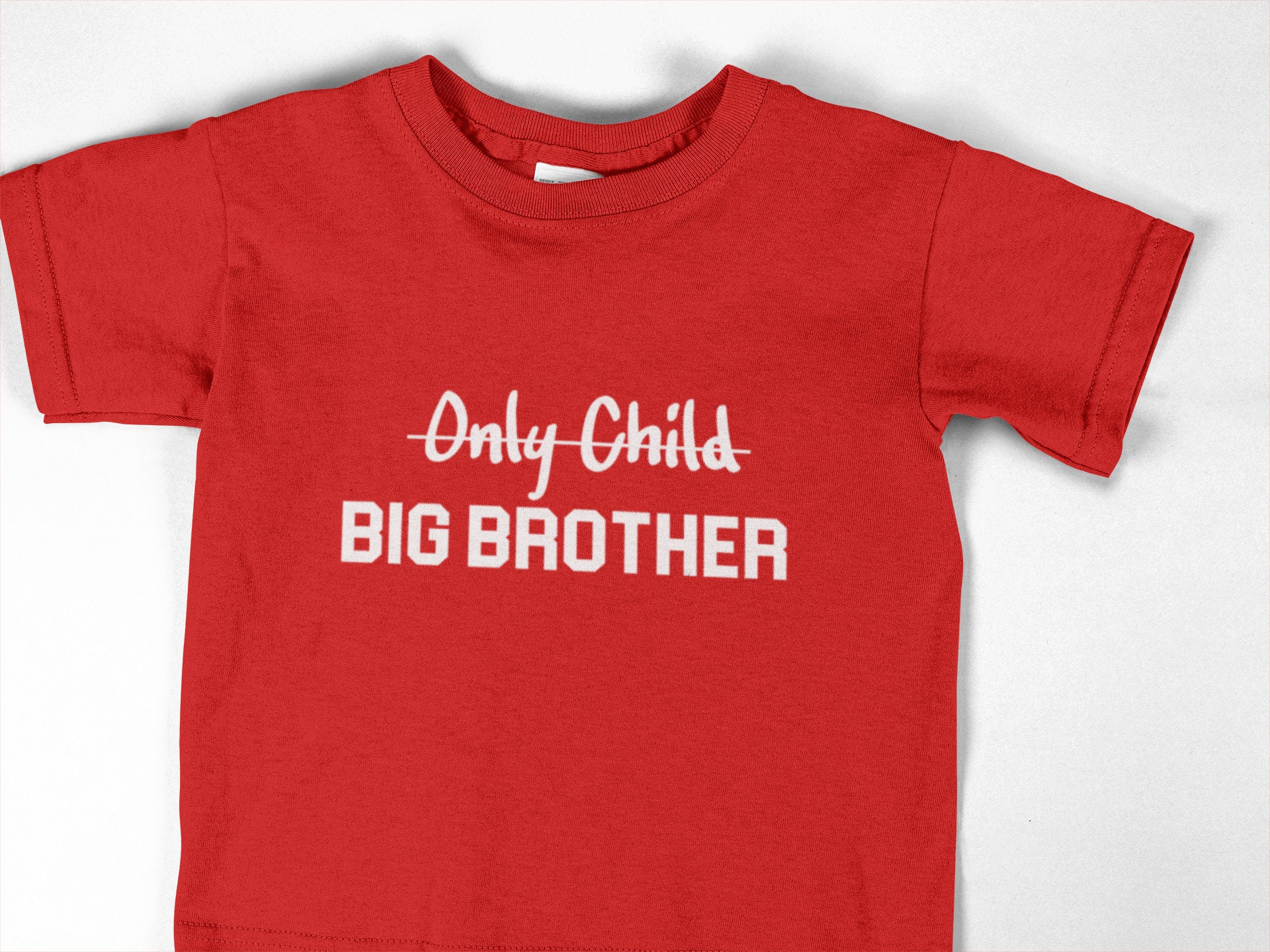 Only Child to Big Brother Birth Announcement Toddler//Kids Long sleeve T-Shirt