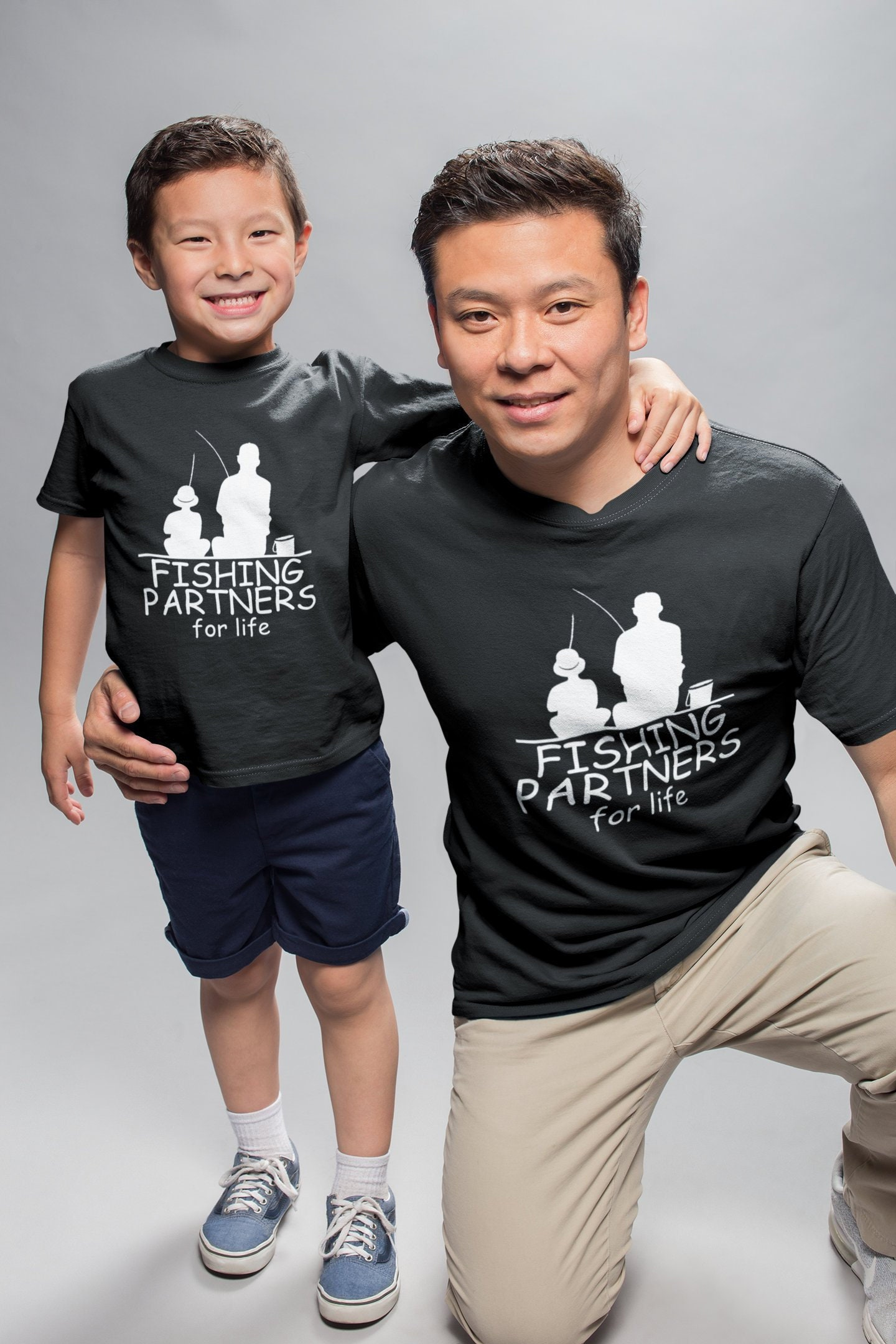 23651174 Fishing Partners For Life Shirts - Matching SET - Father & Son - Father ...