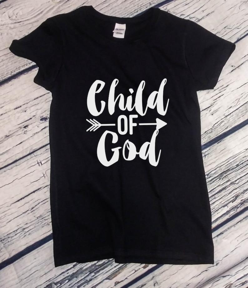 27002dcde Ladies Child of God Shirt Christian Easter Gift Faith | Etsy