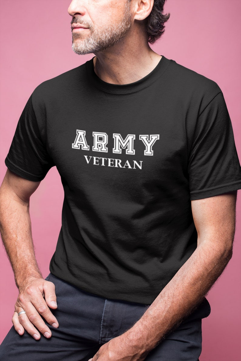 f88457715 Army Veteran T Shirt Vet Tee Military Shirt Veterans Day   Etsy