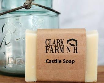 Castile Soap, Olive Oil Soap, Homemade Soap, All Natural Soap, Organic Soap, Vegan Soap, Sensitive Skin Soap, Shaving Soap