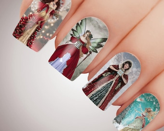 Angel Nail Stickers Etsy