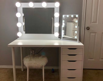 Vanity Mirror With Lights Etsy
