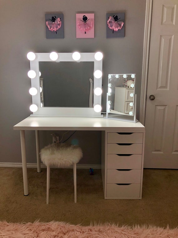 Very Low Shipping Vanity Mirror With Lights Etsy