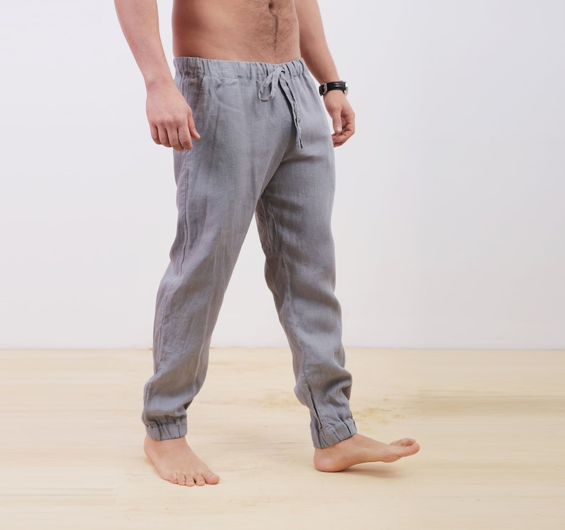 f1b500dbb514 Mens linen pants Summer pants Pants for men Linen trousers