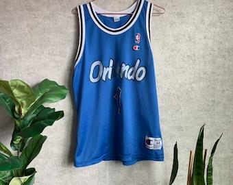 4781609c7ad6c Vintage NBA Orlando Magic Penny Hardaway Blue Champion Jersey