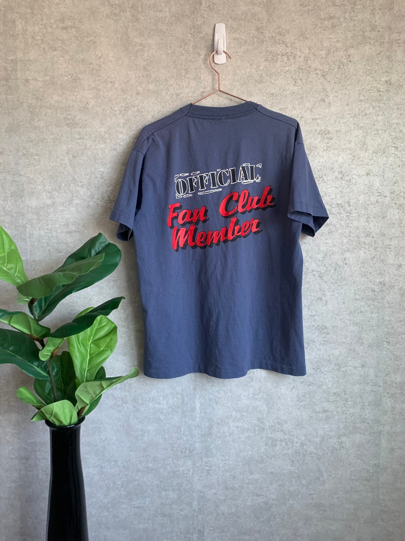 Vintage 1990's Alabama Band Fan Club Blue Promo T-Shirt