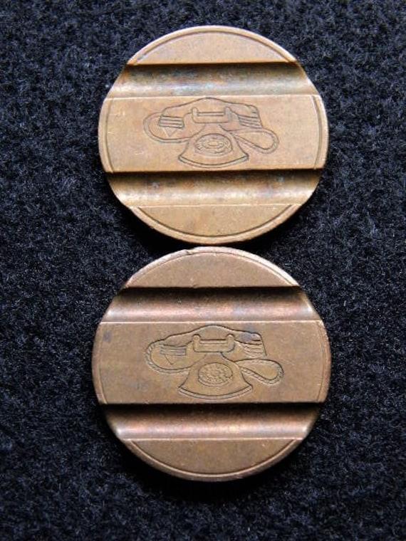 1976 /&78 italian phone tokens