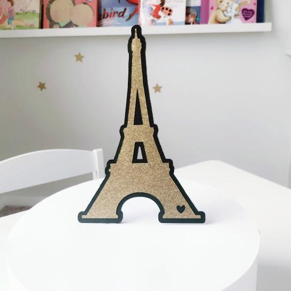 Eiffel Tower Cake Topper Paris Birthday Party Paris Themed Etsy