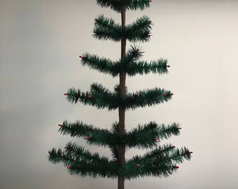 Authentic Christmas Goose Feather Tree