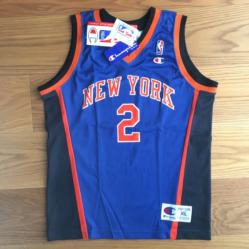 half off c5a80 a2503 Vintage Johnson no 2 New York Knicks NBA Champions jersey, new ols stock  with tags, sz XL 13/14 years boys size