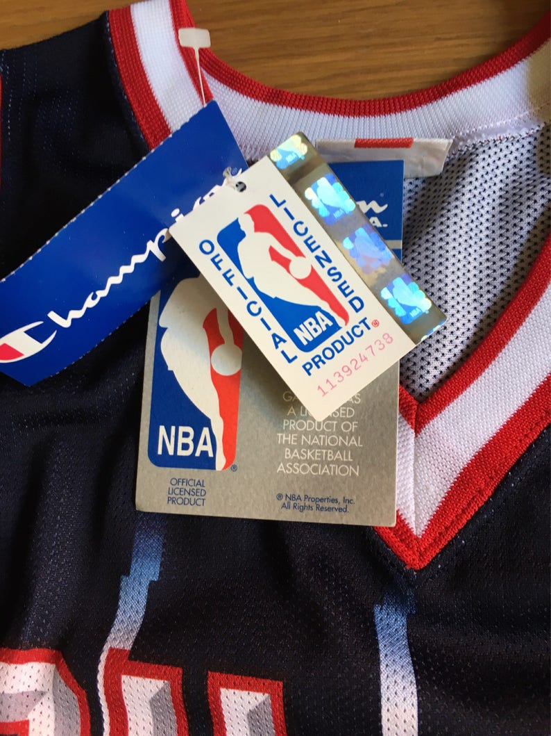 NEW Hakeem Olajuwon 31 Rockets NBA Champions vintage 90s  5cfba9a45