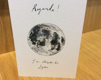 Regarde Moon card