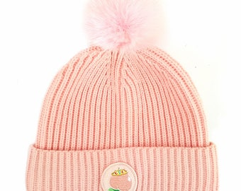 promo code 01ef2 c439f Peach Princess Bobble Hat