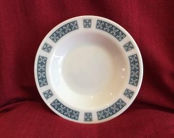 Pyrex JAJ Belmont Soup bowls 1/2 pint 8 7/16 diameter circa 1960