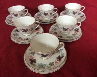 Royal Doulton Camelot Cup, Saucer and Tea Plate Trio