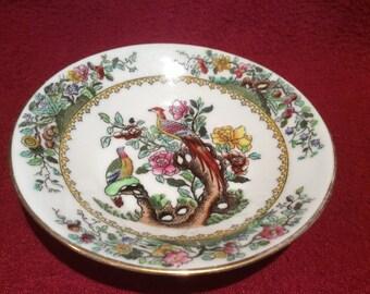 Waring & Gillow Copeland Pheasant Butter Dish circa 1930