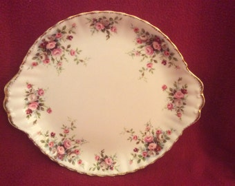 Royal Albert Cottage Garden Bread and Butter plate Cake Plate 10.25""