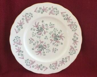 """Colclough Adam 8366 Dinner Plate 10.25"""""""