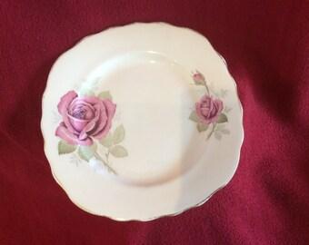 Crown Royal Red Rose Tea Plate