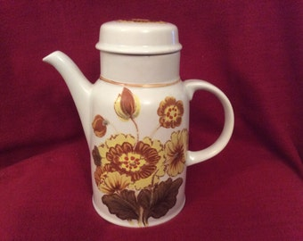 Royal Doulton Forest Glen Coffee Pot Lambeth Stoneware