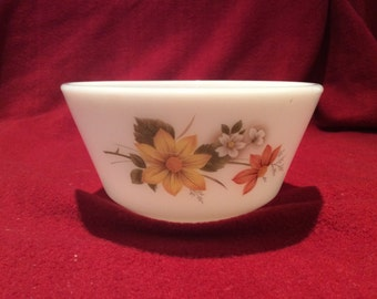 Pyrex JAJ Autumn Glory Dahlia Sugar Bowl