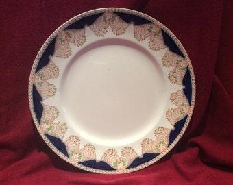 "Britannia Pottery B P Co Ltd Dinner Plate 9 7/8"""