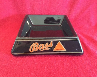 Bass Beer Wade PDM Porcelain Square Shape Ashtray