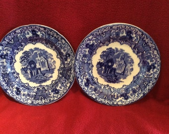 George Jones and Sons Abbey Tea Plate set of 2