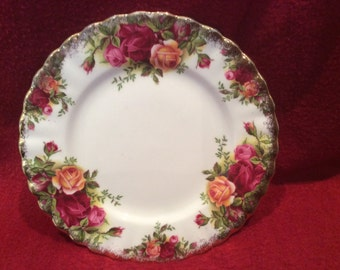 Royal Albert Old Country Roses Tea Plate