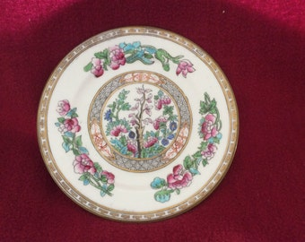 Redfern And Drakeford Balmoral China Ovington Bros Co New York Indian TreeTea Plate