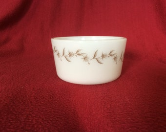 Pyrex JAJ Silver Birch Margarine Tub 1970's