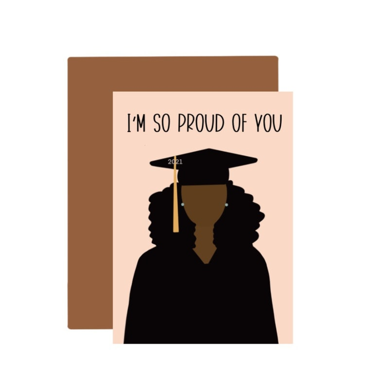 Graduation Greeting Cards 2021/A2 Cards/4.25x5.5/Envelope image 0