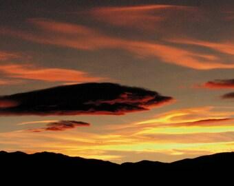 Colorado Panoramic Sunset