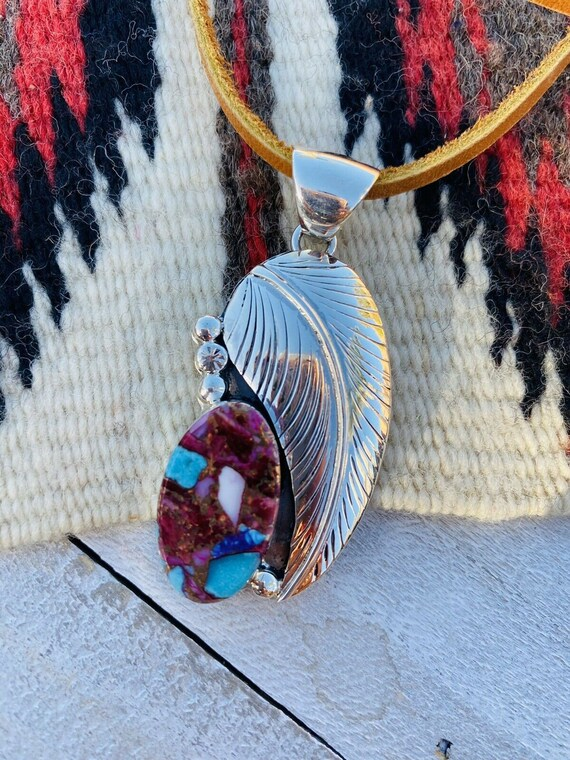 Details about  /Navajo Pink Dream Mojave /& Sterling Silver Straight Dangles