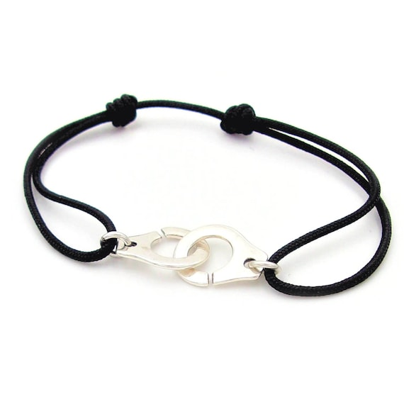 15 colors silver handcuff bracelet and ajustable cord