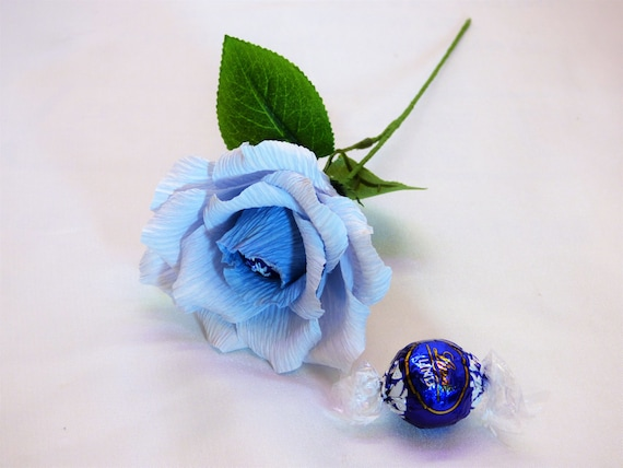 Sale 6 For Price Of 5epe Paper Roses With Chocolate Etsy